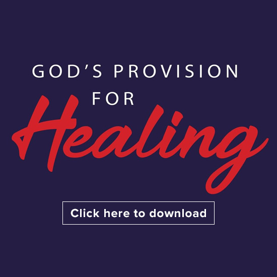 God's provision for healing